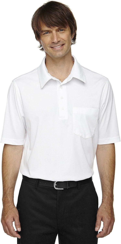 Ash City Extreme Mens ShiftSnag Protection Plus Polo (85114T) -White -5XL