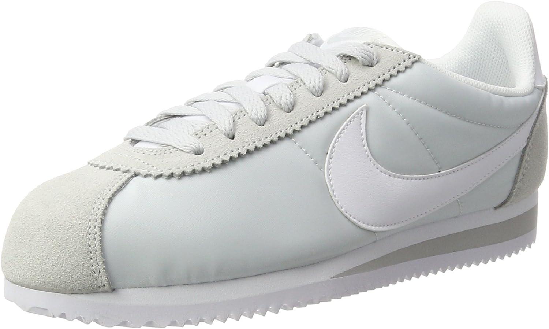 Nike Damen WMNS Classic Cortez Nylon Laufschuhe Eisfarben  | Feinbearbeitung