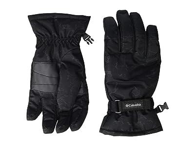 Columbia Kids Coretm Glove (Big Kids) (Black Crackle Print) Extreme Cold Weather Gloves