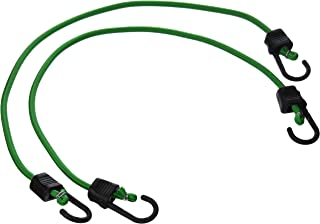 Pack of 2 RoadPro RPJS-HD24 24 Heavy Duty Stretch Cords with Anti-Scratch Hooks,