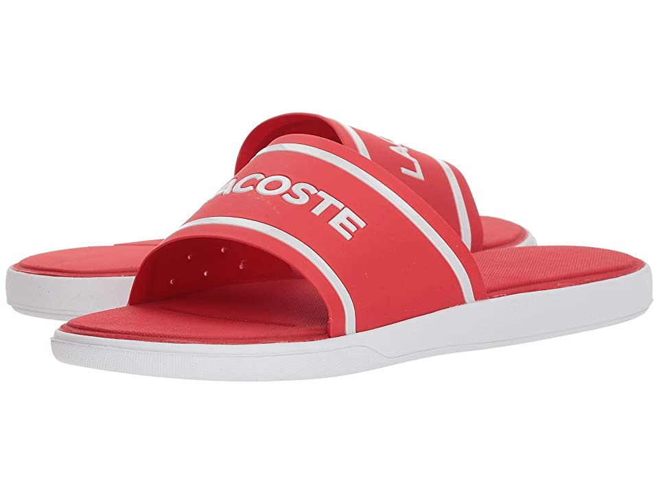 Lacoste L.30 Slide 218 1 (Red/White) Men