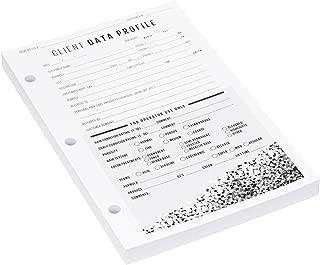 Salon Care Data Organizer Cards