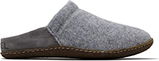 Women's Nakiska Scuff Suede House Slippers with Faux Fur Lining