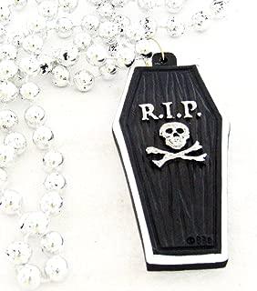 RIP Black Coffin Halloween Mardi Gras Bourbon Street Mardi Gras Beads New Orleans Cajun Creole Party