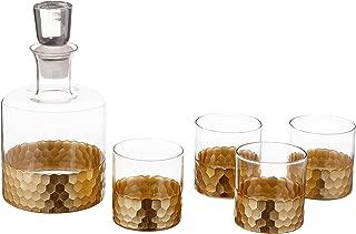 fitz and floyd daphne decanter set