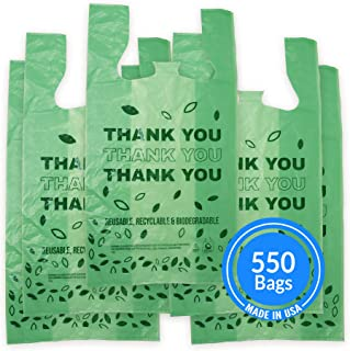 Sponsored Ad - Reli. Biodegradable Thank You Bags   550 Count - Bulk   Made in USA   Biodegradable Shopping Bags, Grocery ...