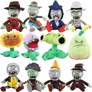 TavasHome Plants vs Zombies 2 PVZ Figures Plush Baby Staff Toy Stuffed Soft Doll