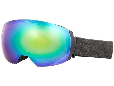 Zeal Optics Portal XL (Greybird w/ Jade Mirror + Persimmon Sky Blue Lens) Goggles