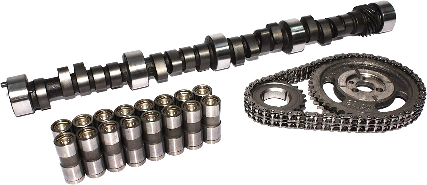COMP Cams CL12-552-4 Nitrous HP 212//222 Hydraulic Flat Cam and Lifter Kit for Chevrolet Small Block