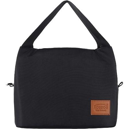 AOSBOS Sac Repas Lunch Bag Sac à Déjeuner Sac Fraîcheur Portable Isotherme Grand Taille 15L