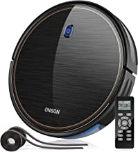 Robot Vacuum, GOOVI by ONSON 2100Pa Upgrade Robotic Vacuum Cleaner with gyroscope, Self-Charging...