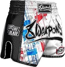 Perfekte Passform f/ür Kampfsport Thaiboxshort mit Elastischem Bund SMMASH X-WEAR Splash Muay Thay Shorts Herren Kurz Hosen f/ür Thaiboxen Kickbox Wettkampf und Training Boxing