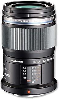 Olympus M.Zuiko - Objetivo Digital ED 60 mm F2.8, zoom estándar, apto para todas las cámaras MFT (modelos Olympus OM-D & PEN, serie G de Panasonic), negro