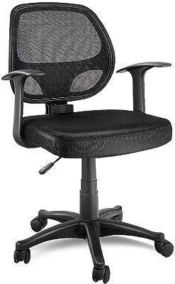 Amazon Com Kovalenthor Adjustable Ergonomic Mesh Swivel Computer Office Chair Adjustable Office Chair Back Swivel Computer Desk Chair Chair With Adjustable Height Kitchen Dining