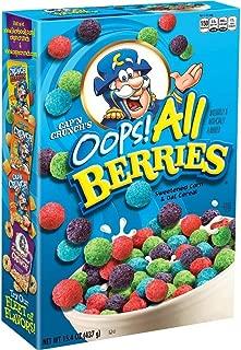Cap'N Crunch Cereal, Oops! All Berries, 15.4oz