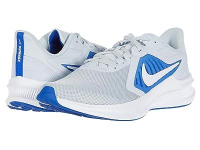 Nike Downshifter 10 (Pure Platinum/White/Hyper Royal) Men