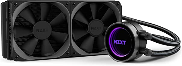 NZXT Kraken X52 All-in-One CPU Liquid Cooling System Cooling, Black RL-KRX52-01