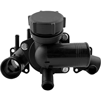 ECCPP 902-903 Engine Coolant Thermostat and Housing Assembly Radiator Coolant Thermostat Housing Equipment fit for 2003 2004 2005 Ford Thunderbird,2003 2004 2005 2006 Lincoln LS