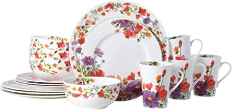 Mikasa Maisie 16-Piece Dinnerware Set, Assorted