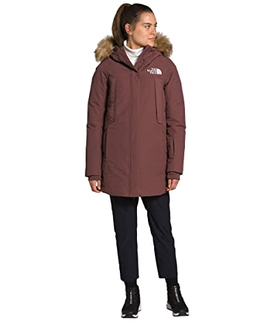 The North Face New Outerboroughs Parka (Marron Purple) Women
