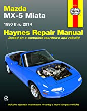 Mazda MX-5 Miata (90-14) Haynes Repair Manual (Does not include information specific to turbocharged models. Includes thorough vehicle coverage apart from the specific exclusion noted) PDF