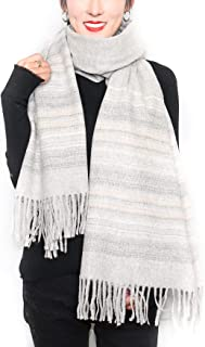 Vinikly Womems Scarf Cashmere Feel Pashmina Ladies Warm Thick Large Blanket Wrap Scarves