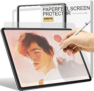 واقي شاشة Paperfeel متوافق مع iPad Air 4 2020 / iPad Pro 11 2021/2020/2018 ، [إطار تركيب] Ambison عالية اللمس حساسية Pro 1...