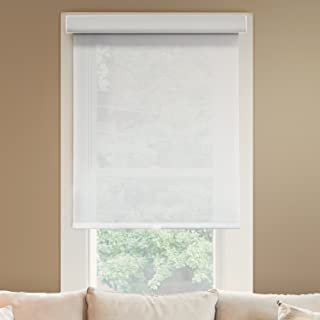 Chicology Deluxe Free-Stop Cordless Roller Shades, No Tug Privacy Window Blind, Magnolia (Light Filtering), 71
