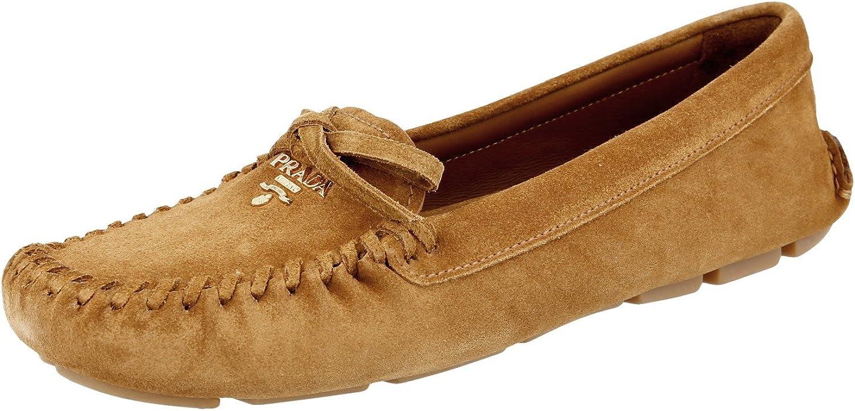 Prada Prada Prada Kvinnors 1DD040 054 F098L läder Loafers  kommer att göra dig nöjd