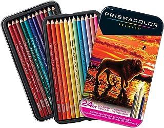 Sanford, Prismacolor Premier 厚核心彩色鉛筆套裝,24 支鉛筆套裝高光和著色 (2034399)