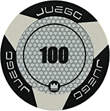 Juego - Fichas de Poker Valor 100 Tournament, Color Negro (ITA Toys JU00128)
