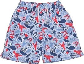 Flap Happy Boys' UPF 50 Swim Trunk with Mesh Liner