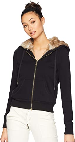 French Terry Reversible Faux Fur Robertson Jacket