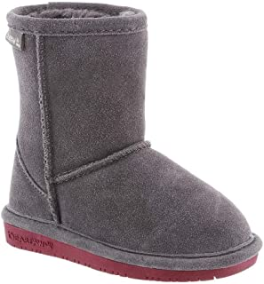 BEARPAW Emma Boot - Youth - Toddlers - Charcoal Pomberry