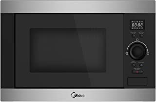 Midea Built-in Microwave AG925BVK 25L Grill Microwave Oven Silver-Black Color, 1 Year Warranty