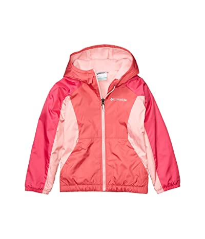 Columbia Kids Ethan Pondtm Fleece Lined Jacket (Little Kids/Big Kids) (Rouge Pink/Cactus Pink) Girl