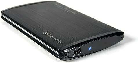 Thermaltake Silver River II Aluminum 2.5-Inch USB 2.0 External Enclosure ST0018Z (Black)