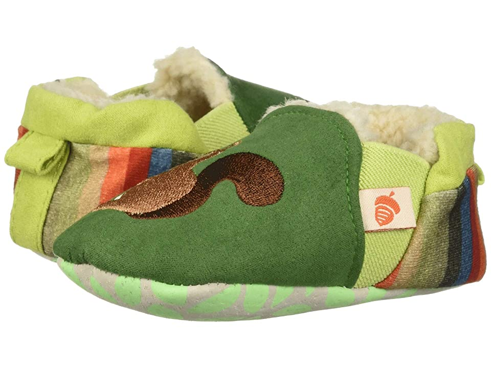 Acorn Kids Easy On Moc Tots (Infant) (Green Squirrel) Girls Shoes
