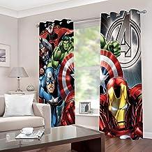 Vorhänge Digital Druck Marvel Heroes Bild Polyester Weiche