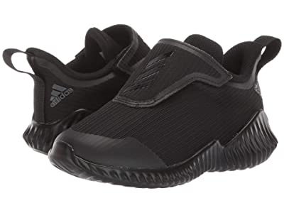 adidas Kids FortaRun AC (Toddler) (Black/Grey) Boys Shoes