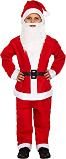 Henbrandt Small Santa Father Christmas - Child's Dressing Up Outfit (Ages 4-6 Years)