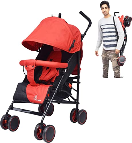 R for Rabbit Twinkle Twinkle Stroller Compact Travel Friendly Pram for Baby|Kids|Infants|New Born|Boys|Girls of 0 to ...