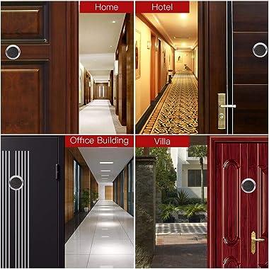 NAIERDI 3.0 Inch Digital Door Viewer, 120 Degree Peephole Camera, IR Night Vision Peephole Viewer Doorbell Security Door View