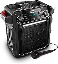 Ion Pathfinder II Rugged Bluetooth Portable Speaker – Red (Renewed)