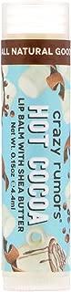 Crazy Rumors Lip Balm with Shea Butter Hot Cocoa 0 15 oz 4 4 ml