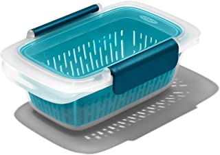 OXO Good Grips Prep & Go Leakproof 1.9 Cup Container with Colander