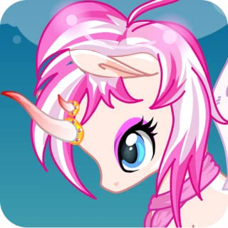 unicorn rainbow : pony dress up game