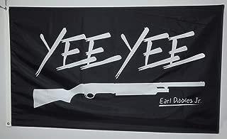 Astany Yee Yee Black Flag 3X5FT Banner