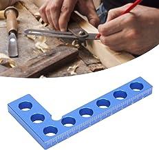 Règle à angle droit, règle de fixation de cadre de positionnement à 90 degrés en alliage d'aluminium, pinces à angle droit...