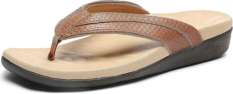 SERIMINO Orthotic Flip Flops for Fasciitis Women Sandals Max 82% OFF Plantar service